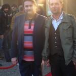 Mit Peter Trabner beim Achtung Berlin